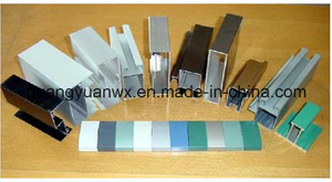Powder Coated Aluminum Tubes Profile 6m Length