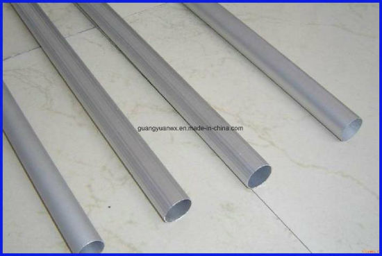 2014 T6 Seamless Anodized Aluminium Pipes/Profile/Tube (WXGY100)