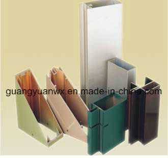 6061 T6 Powder Coated Aluminum Tube Profile