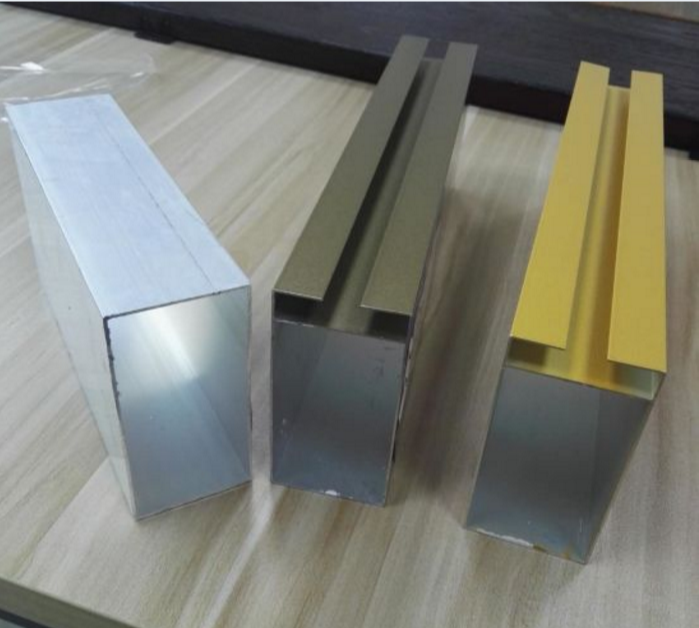 Modular Square Metric Aluminum Tube Profiles