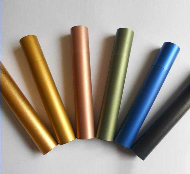 Ultra Thin Decorative Formable Cold Drawn Aluminium Tube