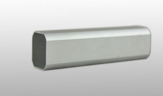 Obround Drawn Metric Aluminium Tube