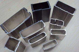 Standard Fine Brushed Aluminum Tube Profiles