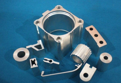D Shaped One Inch Pre-bent Aluminum Machining Parts